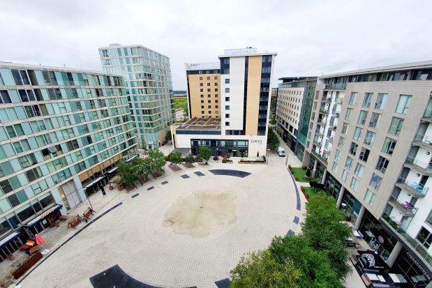 Thumbnail Flat to rent in Rillaton Walk, Milton Keynes