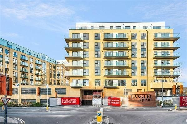Thumbnail 1 bed flat for sale in 5th Floor, Langley Square, The Earl, Mill Pond Road, Dartford, Kent