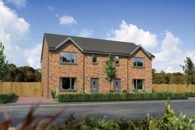 "Thumbnail Semi-detached house for sale in ""Caplewood"" at Kingswells, Aberdeen"