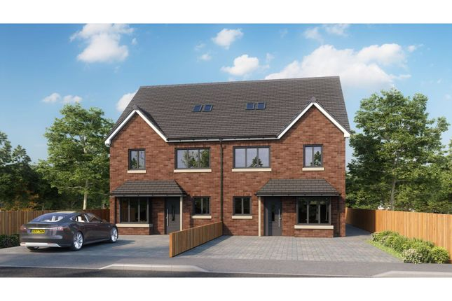 Thumbnail Semi-detached house for sale in Mayflower Way, Beaconsfield