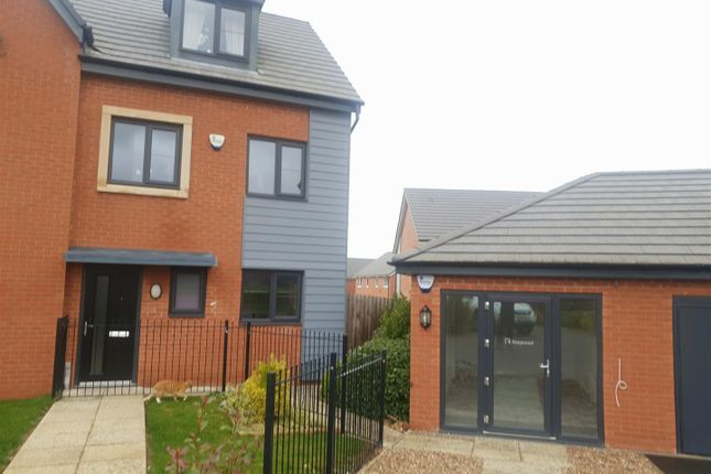 Thumbnail Semi-detached house to rent in Caraway Drive, Shirebrook, Mansfield