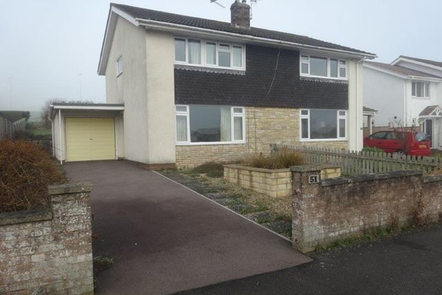 3 bed semi-detached house for sale in Dixton Close, Monmouth