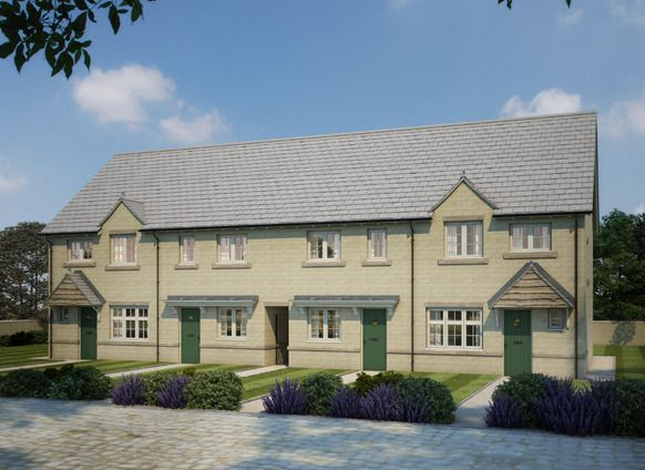Thumbnail Terraced house for sale in Manor Fields, Thornhill Road, Steeton, West Yorkshire