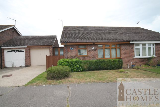 Thumbnail Semi-detached bungalow to rent in Kingswood Avenue, Carlton Colville, Lowestoft, Suffolk
