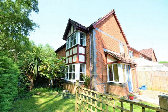 Thumbnail End terrace house for sale in Lyndsey Close, Farnborough, Hampshire