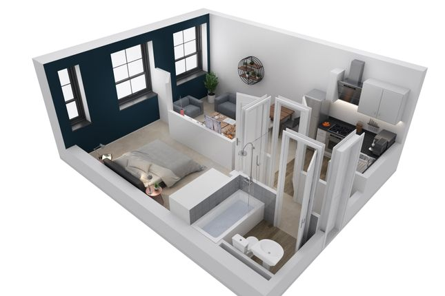 1 bed triplex for sale in Pellon Lane, Halifax