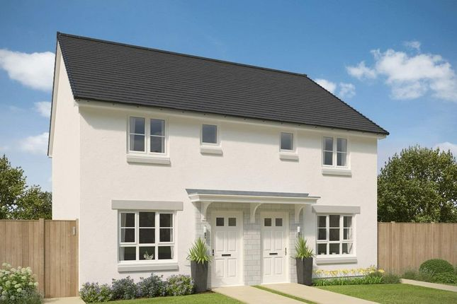 "Thumbnail End terrace house for sale in ""Glenlair"" at Mugiemoss Road, Bucksburn, Aberdeen"