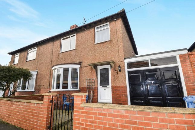 Thumbnail Semi-detached house for sale in Aydon Crescent, Alnwick