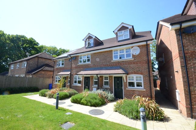 Thumbnail End terrace house to rent in Cresley, London Road, Hook