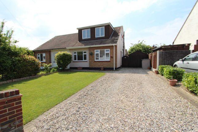 Thumbnail Semi-detached house for sale in Kings Park, Hadleigh, Benfleet