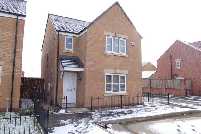 Thumbnail Detached house to rent in Sandringham Way, Newfield, Chester Le Street