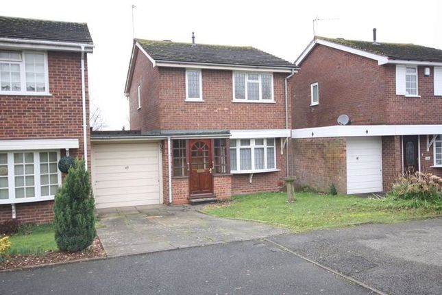 Thumbnail Link-detached house to rent in Hollyberry Close, Winyates Green, Redditch