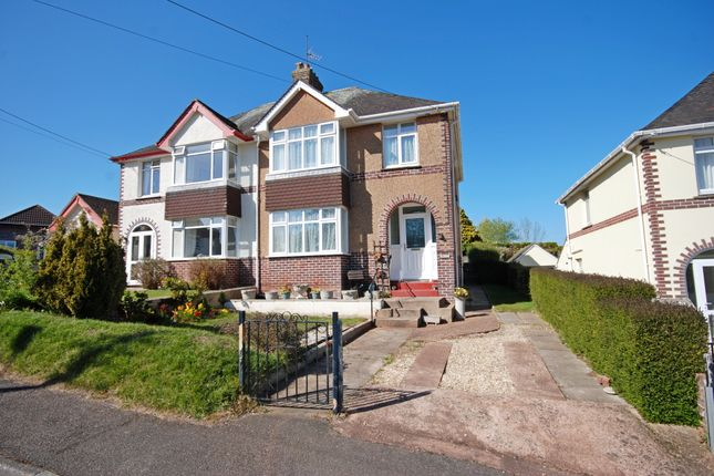 Thumbnail Semi-detached house for sale in Malvern Road, Sidmouth