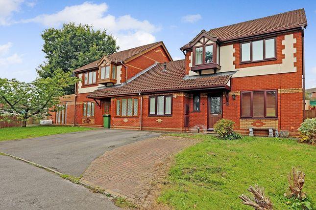 Thumbnail Link-detached house for sale in Wellfield, Beddau, Pontypridd