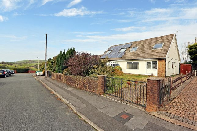 Thumbnail Semi-detached bungalow for sale in Balmoral Close, Penycoedcae, Pontypridd