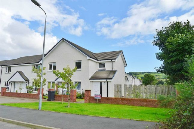 Thumbnail End terrace house for sale in Benlister Road, Lamlash, Isle Of Arran