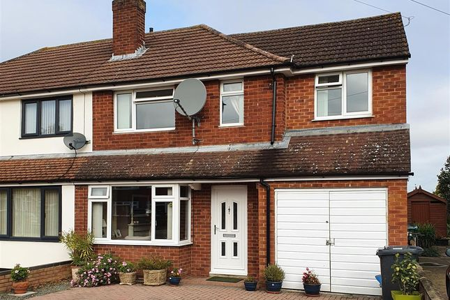 Thumbnail Semi-detached house for sale in Nine Elms Road, Longlevens, Gloucester