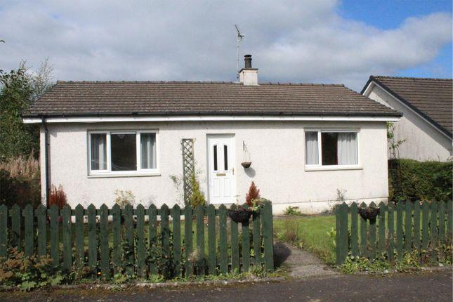 Thumbnail Detached bungalow for sale in 7 Lochview Place, Burnhead, Auldgirth, Dumfries