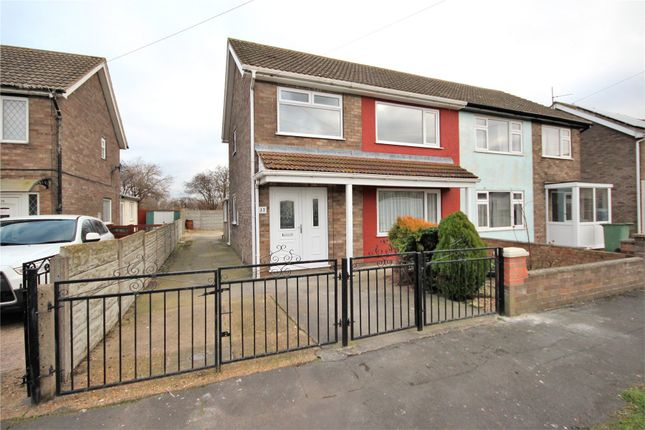 Thumbnail Semi-detached house to rent in Talbot Road, Immingham