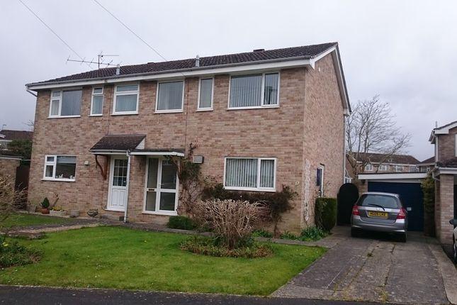 Semi-detached house to rent in Duncliffe Close, Stalbridge, Sturminster Newton
