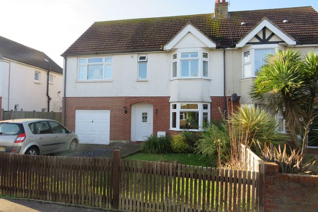 Thumbnail Semi-detached house for sale in St. Andrews Road, Worthing