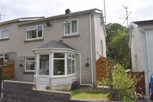 3 bed semi-detached house for sale in Heol Y Dderi, Glanduar, Llanybydder SA40