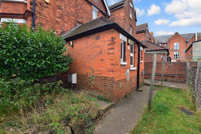Rear Garden of Radnor Park Road, Folkestone, Kent CT19