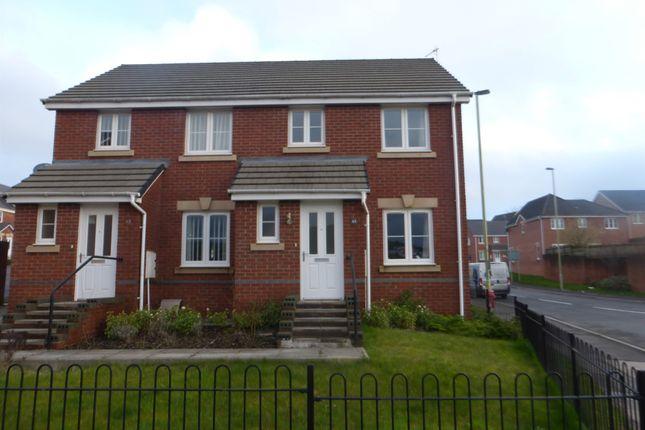 Thumbnail Semi-detached house for sale in Ffordd Y Dolau, Llanharan, Pontyclun