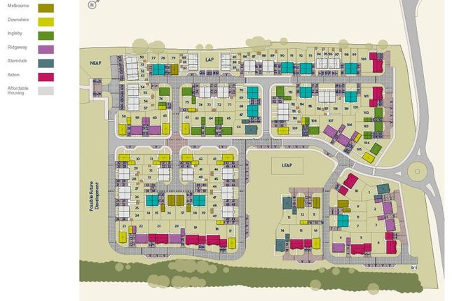 Site Plan of Chiltern Close, Chalgrove, Oxford OX44