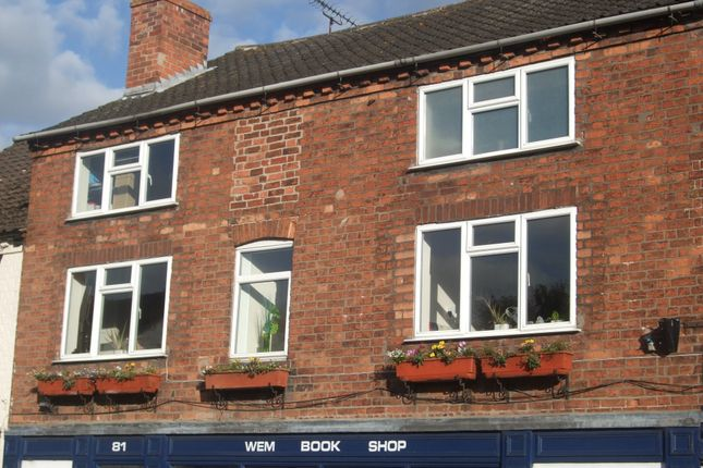 Thumbnail Flat for sale in High Street, Wem, Shrewsbury