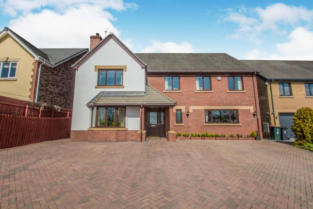 Thumbnail Detached house to rent in Blacksmiths Way, Coedkernew, Newport