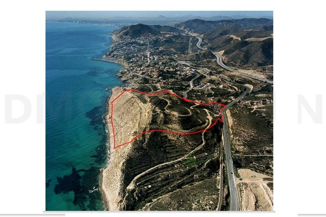 Thumbnail Land for sale in Campello Prime Land For VIP Resort, Costa Blanca, Valencia, Spain