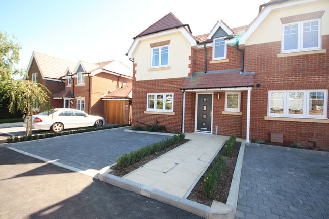 Thumbnail Semi-detached house for sale in Woodlands Park Road, Maidenhead