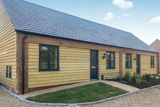 Thumbnail Semi-detached bungalow for sale in Paddock Way, Great Glen, Leicester