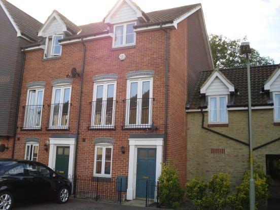 Thumbnail Terraced house to rent in Hurst Road, Kennington, Ashford, Kent