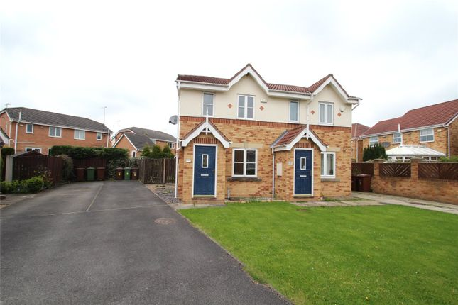 Thumbnail Semi Detached House To Rent In Providence Green, Pontefract, West  Yorkshire