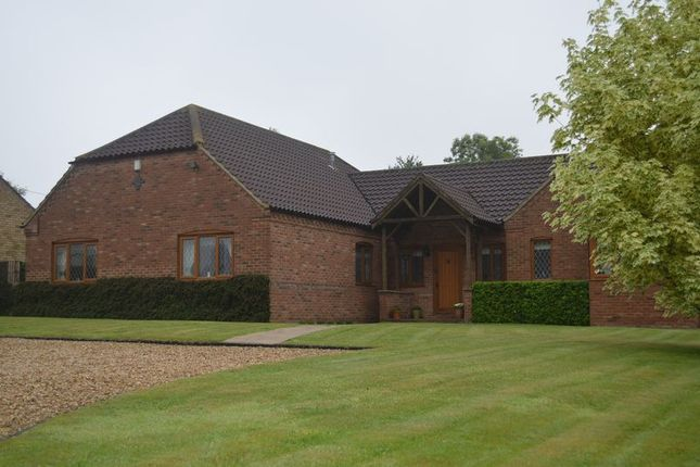 Thumbnail Detached bungalow for sale in The Brambles, Cherry Willingham, Lincoln
