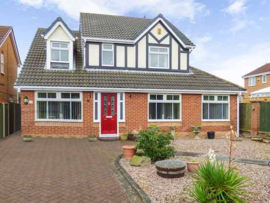 Thumbnail Detached house for sale in Carnoustie Close, Wirral, Merseyside