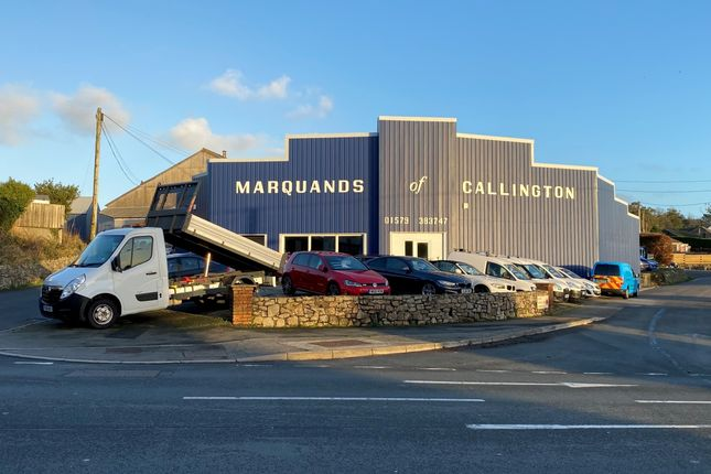 Thumbnail Commercial property for sale in Callington, Cornwall