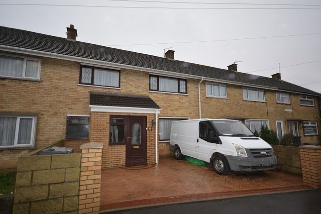 3 bed terraced house for sale in Crediton Road, Llanrumney, Cardiff. CF3