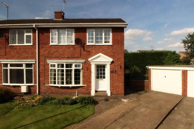 Thumbnail Semi-detached house for sale in Willow Court, Cranswick, Driffield