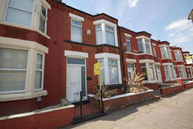 Thumbnail Terraced house to rent in Rake Lane, Wallasey
