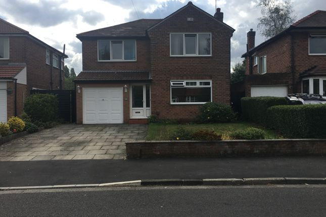 Thumbnail Detached house to rent in Cleveland Road, Heaton Moor, Stockport