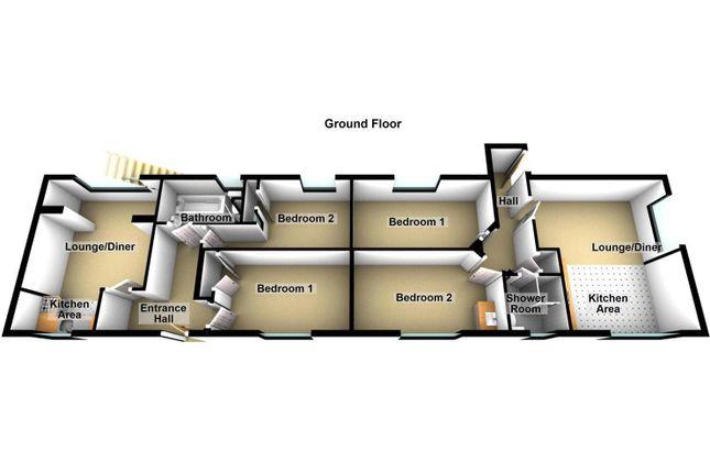 Ground Floor Cottages
