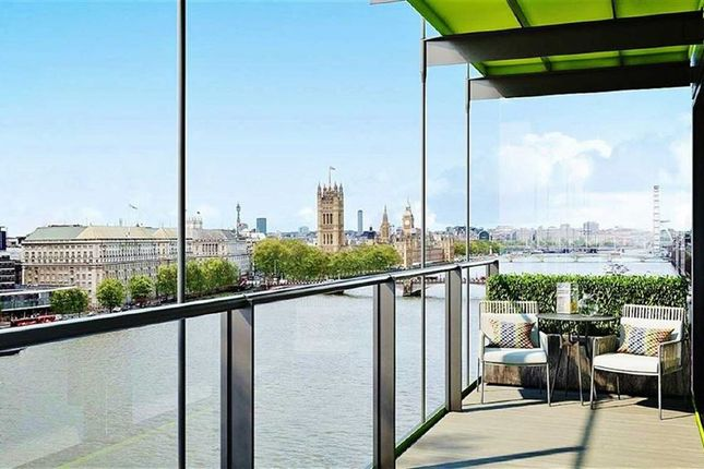 Thumbnail Flat for sale in Merano Residences, South Bank, London