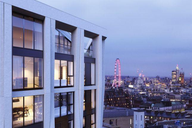 External of Hexagon Apartments, Parker Street, Covent Garden, London WC2B