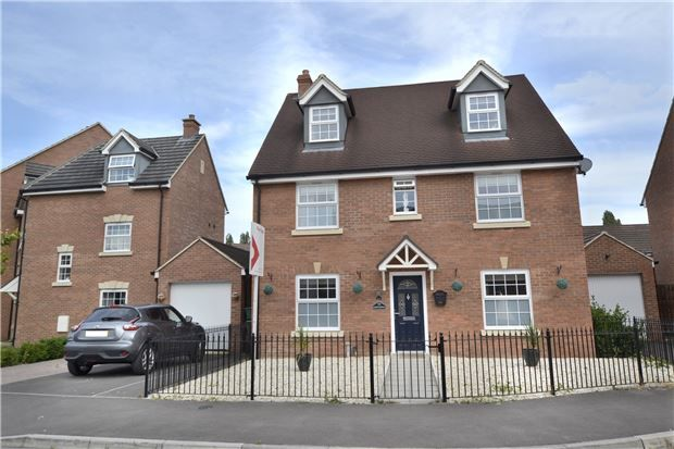 Thumbnail Detached house for sale in Goose Bay Drive Kingsway, Quedgeley, Gloucester
