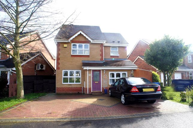 Thumbnail Detached house to rent in Lawnlea Close, Sunnyhill, Derby