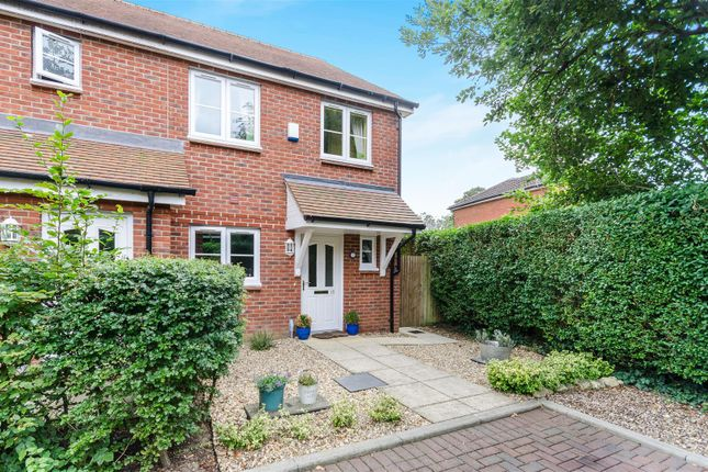 Thumbnail Semi-detached house for sale in Hunts Close, Colden Common, Winchester
