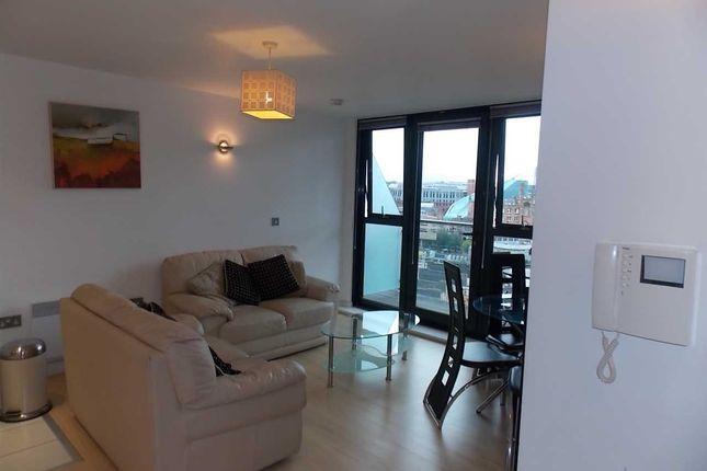 Thumbnail Flat to rent in Tempus Tower, 9 Mirabel Street, Manchester